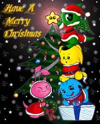 .+. A week before Christmas.+. by feli