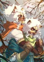 The White Shaman - Winter by Miss-Pannacotta