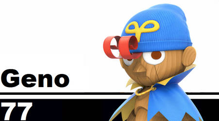 Geno's Smash Moveset by Superkoopa21
