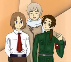 Love trio by TaraAkera