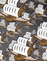 Escher Pirate Ships by sillysyd