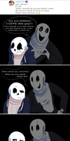 Undertale:: ParaverseTale:: Friend and Family Ask by SpaceJacket