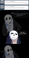 Undertale:: ParaverseTale:: A True Friend Ask by SpaceJacket