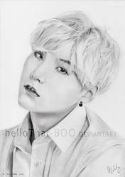 Min Yoongi (Suga) by helloThar-BOO