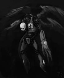 Quick Robot Sketch by harlequin01