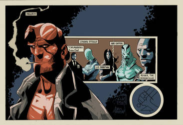 Hellboy And The Bprd by cyomAn