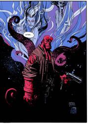 Hellboy : Women by cyomAn