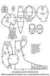 Ampharos Plush Pattern by Diffeomorphism