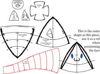 Tama-neko Pattern by Diffeomorphism