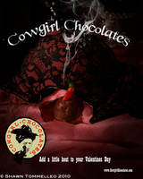 Demo Ad Cowgirl Chocolates by Jesterbrand