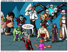Vs The World... Of Warcraft by Jesterbrand