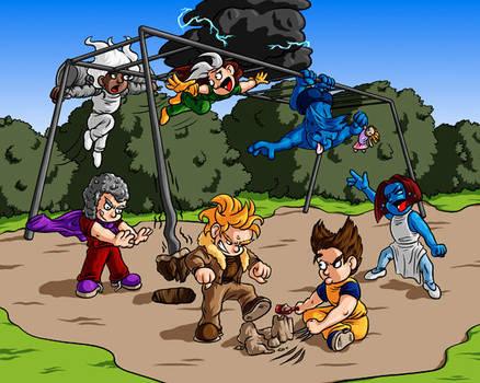 X-Kids Playground by Jesterbrand