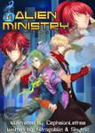 Alien Ministry: Manga Cover 1 by NitroGoblin
