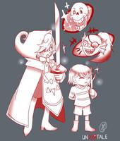UNDERTALE RED  by KuroNekoPalette