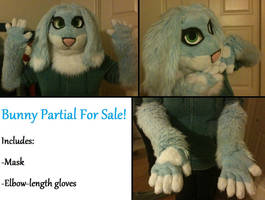 Bunny Fursuit (for sale~!) by Enoki