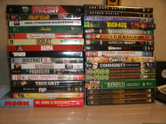 My DVD collection by ChopSilverBlood