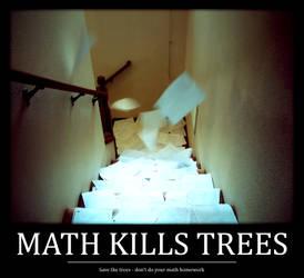 Math Kills Trees by Blackhole12