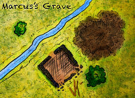 Marcus's grave by etherneofzula