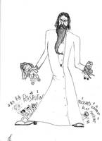Rasputin and Lil' Boney M by Samuel-SILVER