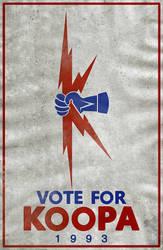 Vote For Koopa '93 by Samuel-SILVER