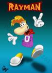 Rayman Poster by purpledragon267