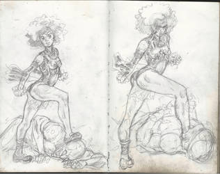 Small Sketches. 7 by infinitestudios2005
