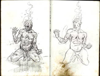 Small Sketches. 8 by infinitestudios2005