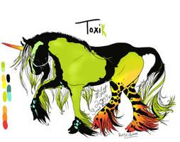 Toxik - Char Design by SunsetRevelation
