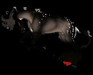 Itztli | Stag | Herd Member by SunsetRevelation