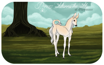 Lalianna the Lily | Hind | Princess by SunsetRevelation