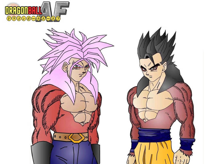 Trunks Y Goten Ssj4 Colored By Maurogoku On Deviantart