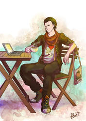 Hipster Loki by EmmaSeptimus