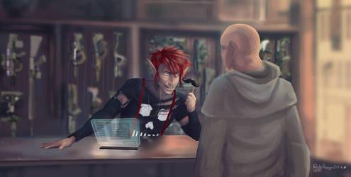 Shadowrun letsplay by EmmaSeptimus