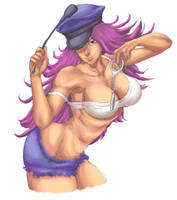 Poison - Street Fighter by Mick-cortes