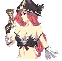 Miss Fortune - League of Legends by Mick-cortes