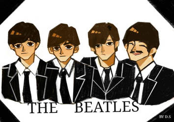 The Beatles fanart  by Dionysus1204