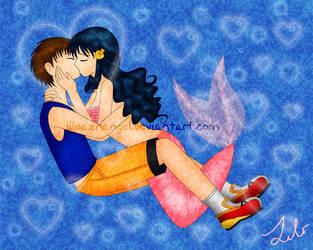 Mermaid Kiss by LiLoAznAngel