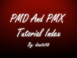 PMD\PMX tutorials index by dianita98