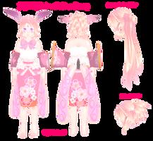 MMD Motme zodiac-Bunny by dianita98