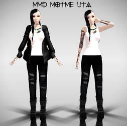 MMD Motme Genderbend Uta by dianita98