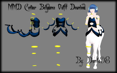 MMD Centaur Bellydance Outfit Download by dianita98