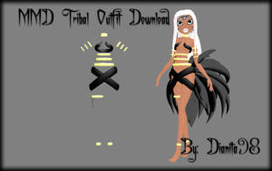 MMD Tribal Outfit Download by dianita98