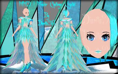 MMD 1 Modeler Challenge: Crystal by dianita98