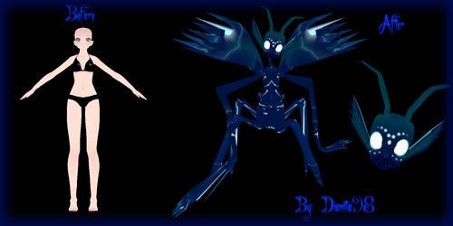 {MMD OC} 1 Base Challenge: Tda Monster by dianita98
