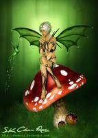 3d fantasy fairy V2 by DIGI-3D