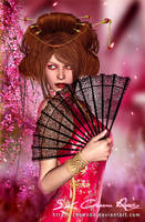 Japanese Costumes  Traditional___! by DIGI-3D
