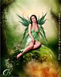 Green Fairy___!  :D by DIGI-3D