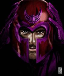 Magneto Color by JustinSpyresArt
