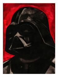 Darth Vader by JustinSpyresArt
