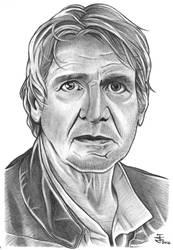Han Solo TFA by JustinSpyresArt